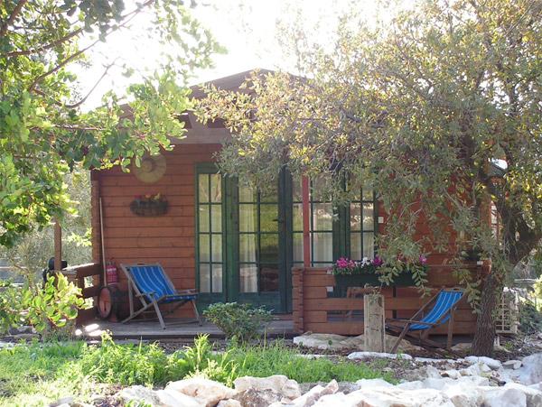 Zimmer (Finnish style wooden cabin)