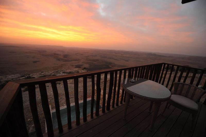 Mitzpe Ramon in the Negev - Beresheet Hotel 5 Stars